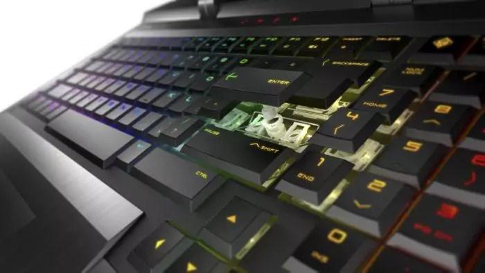 OMEN X clavier