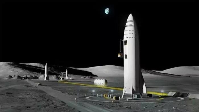 Elon Musk Moon Base