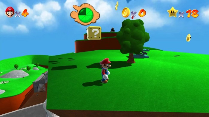 Super Mario 64 Remake HD 2