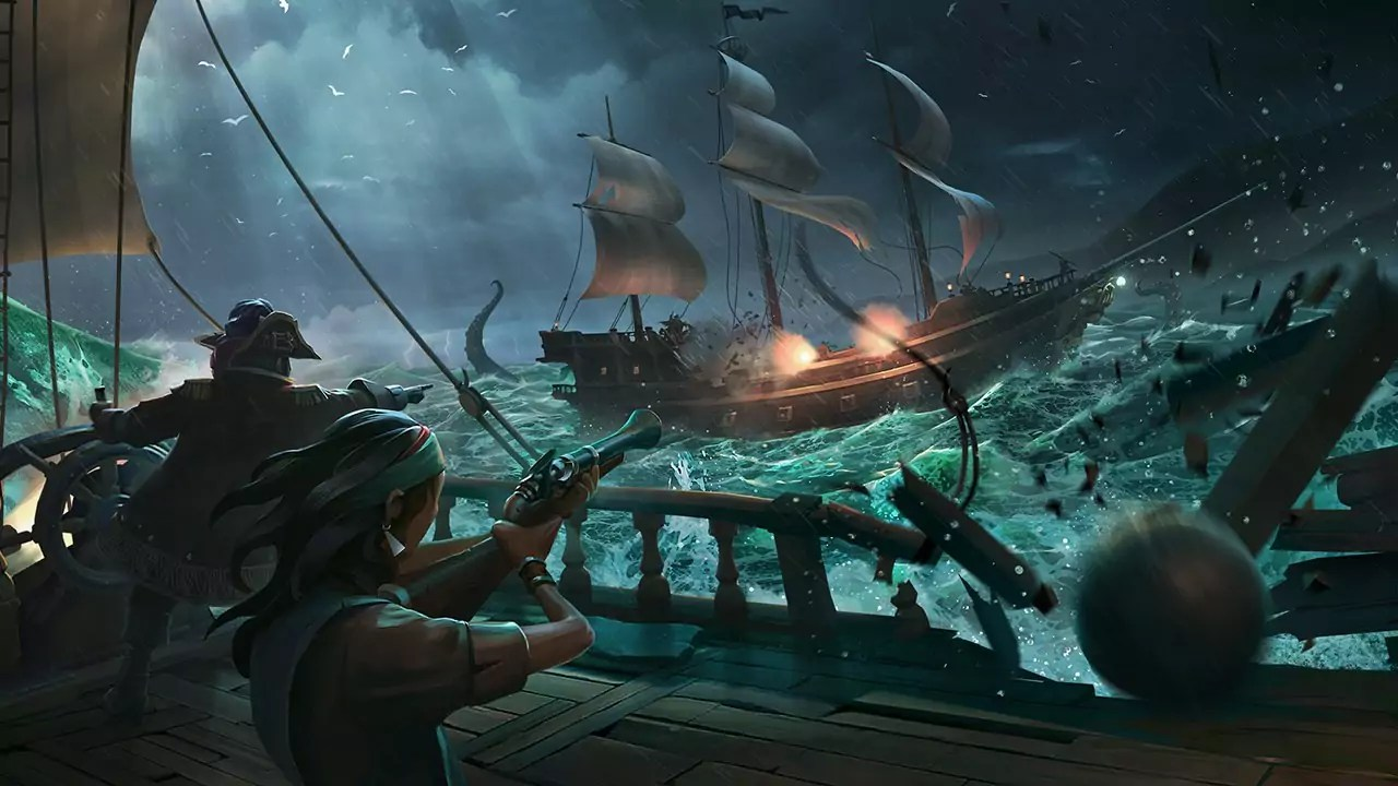 Le navire Sea of Thieves secoué par une importante affluence
