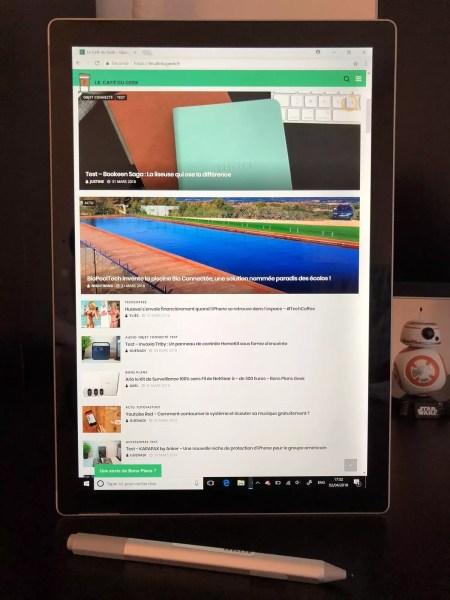Ecran Surface Pro 2017