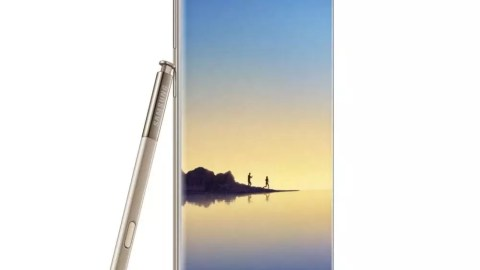 Galaxy Note 8 Gold