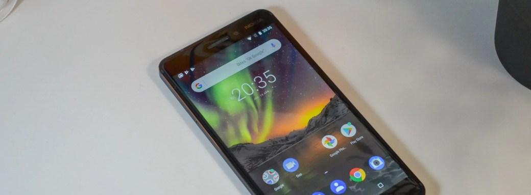 Avis du Nokia 6.1