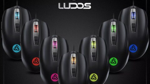 "Souris Gamer ""LUDOS FLAMMA"""