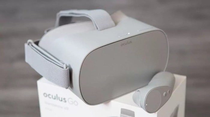 Oculus Go boutons