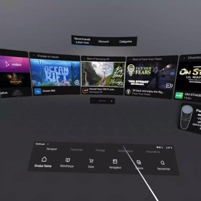 oculus interface