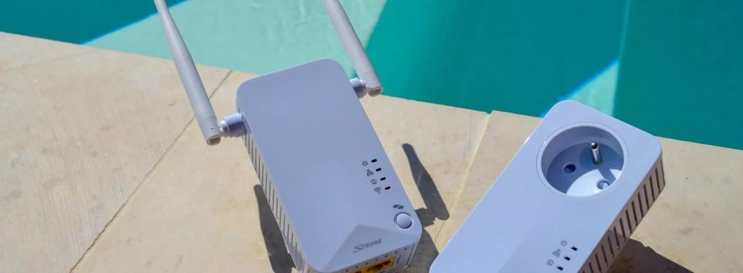 Avis du CPL Wi-Fi 500 de STRONG