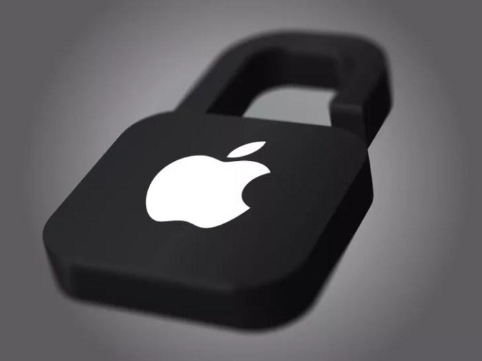 apple sécurité