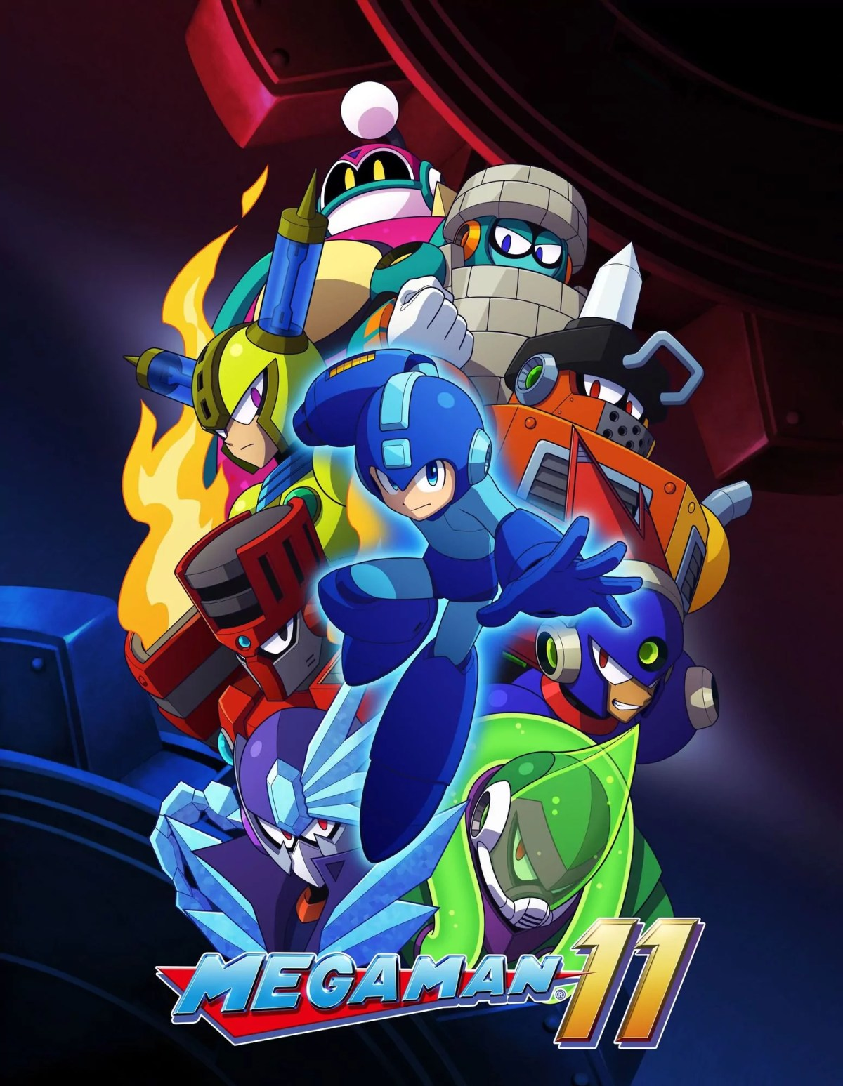 MegaMan11_illustrationpackshot