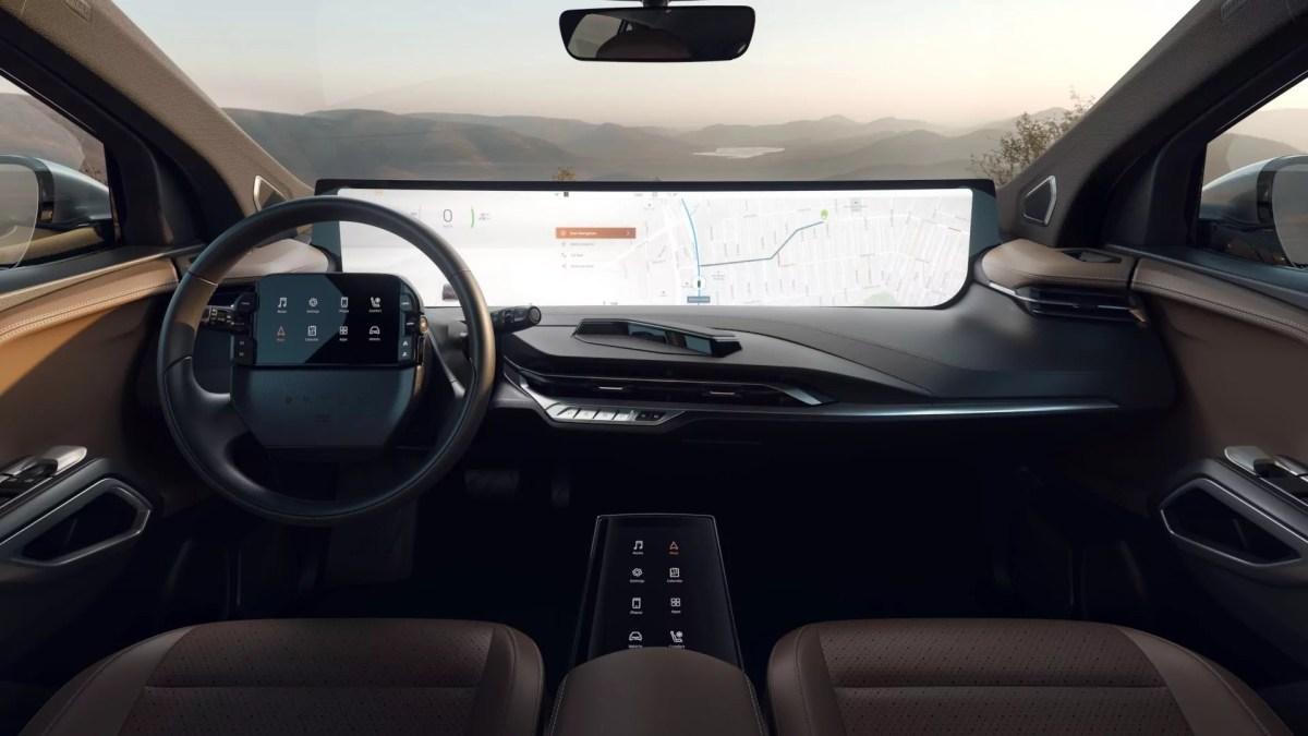 BYTON M-Byte-Interior_CallerOnMap_HD CES 2019