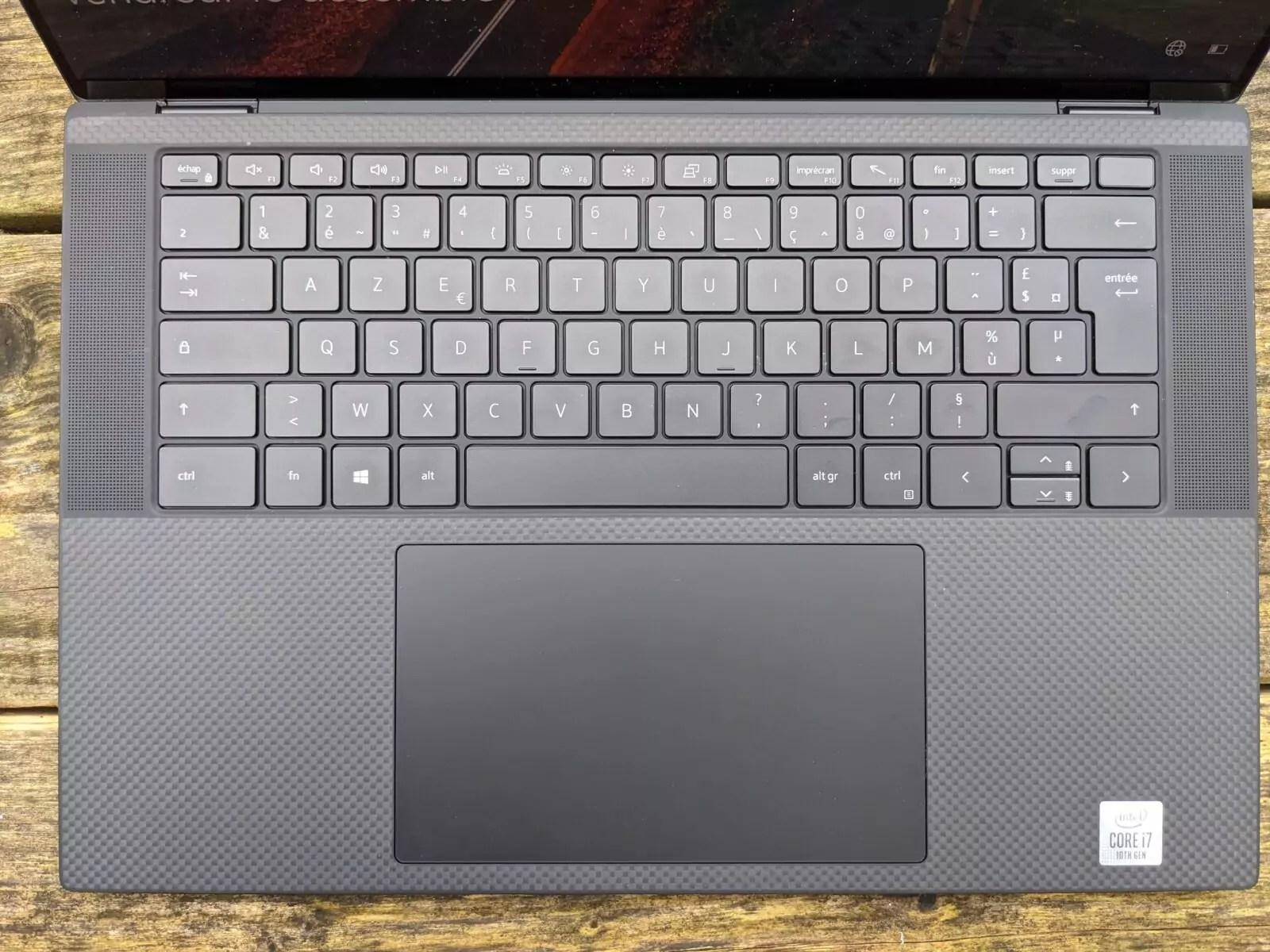 dell xps 15 clavier
