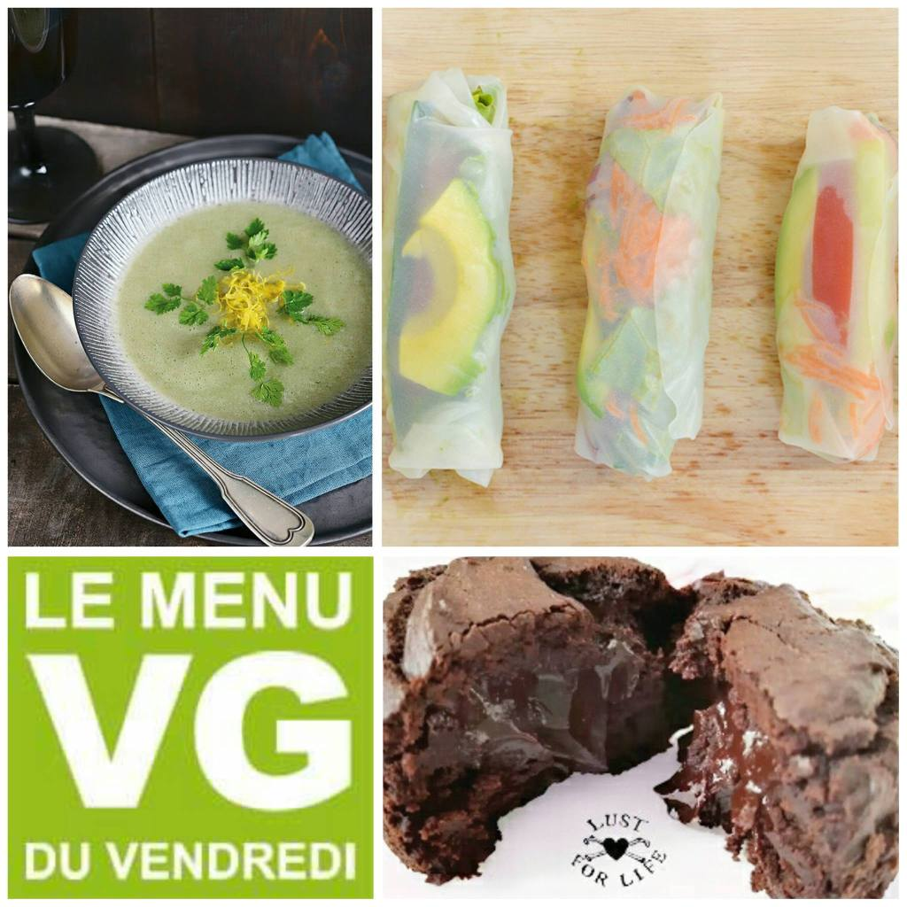 Menu VG du vendredi – Menu express