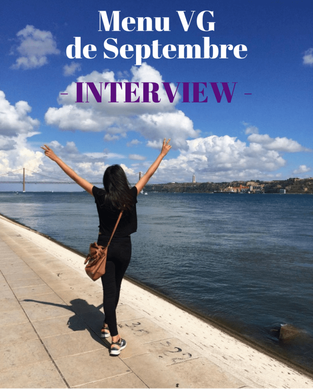 "Menu VG de Septembre – Interview ""Le chat vegan"""