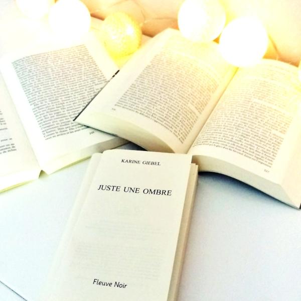 Avis de lecture sur le roman Juste une ombre de Karine Giebel