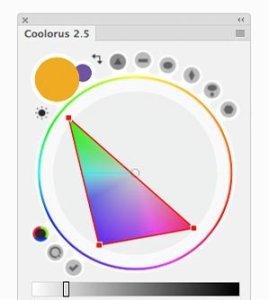 Coolorus permet de limiter sa palette de couleur