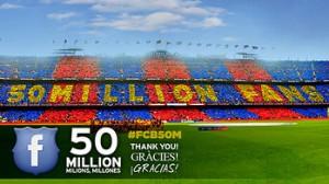 50 milioni fan Barca