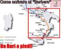 a piedi a Palermo da Bari