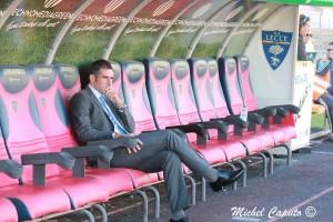 Lucarelli in panchina