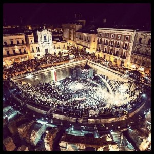 La notte bianca 2012 di Andrea Donato Alemanno
