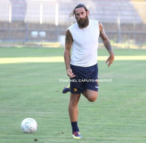 Davide Moscardelli in allenamento 16-7-2015