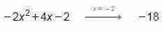 Valor numérico de una expresión algebraica