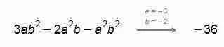 Ejercicios resueltos de valor numérico 4