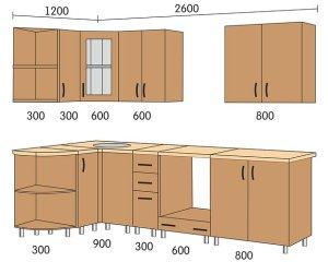 Модульная кухня. Самостоятельная установка.