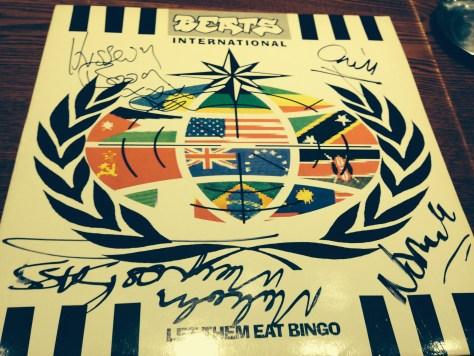 BEATS INTERNATIONAL FATBOY SLIM襲名前のNORMAN COOKのユニット。来店記念サイン入り!