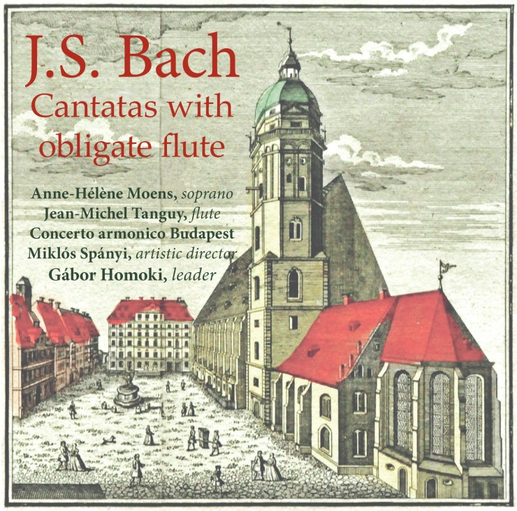 BACH, Cantatas with obligate flute
