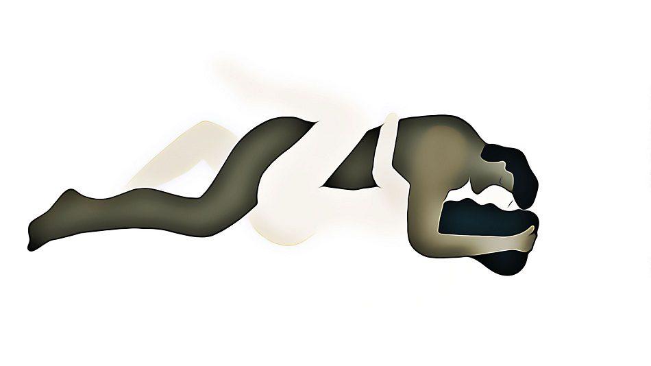 zen variante de la postura el misionero | revista le chat magazine
