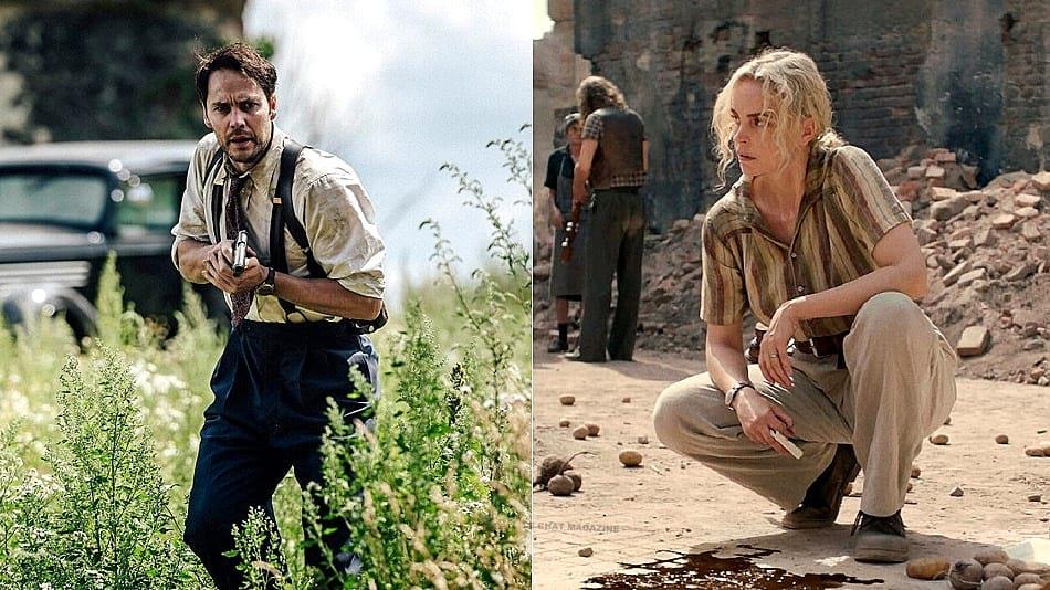 Taylor Taylor Kitsch y Nina Hoss en 'Los derrotados' (Netflix) | revista le chat magazine