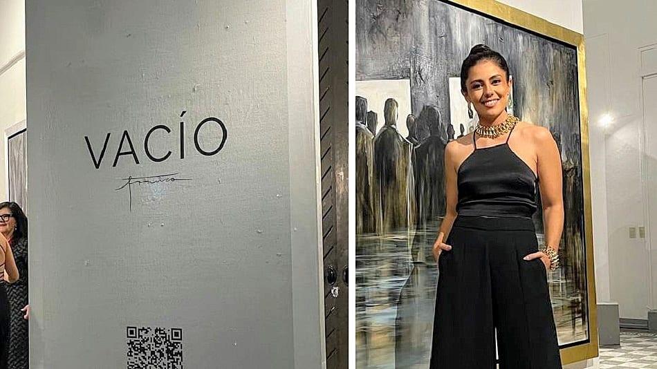 VIOLETA FRANCO PRESENTÓ 'VACÍO', SU PRIMERA EXPOSICIÓN