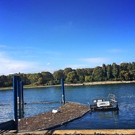 Traitement des eaux par SIAAP Clichy // Cleaning the Seine River / Müllsammelanlage zur Reinigung der Seine