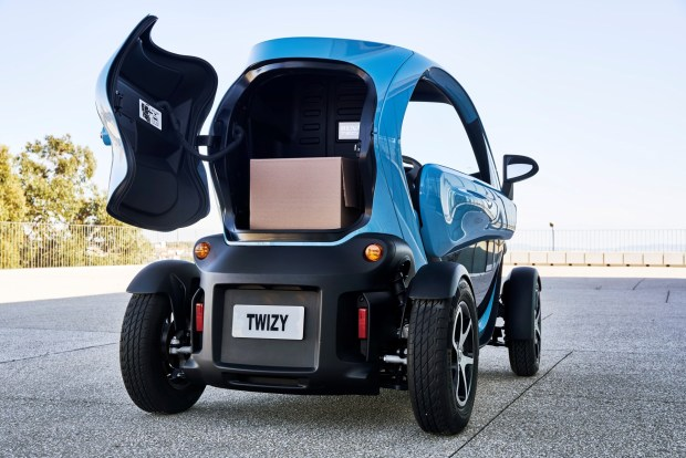Twizy Cargo 2018 JEAN-BRICE LEMAL / RENAULT