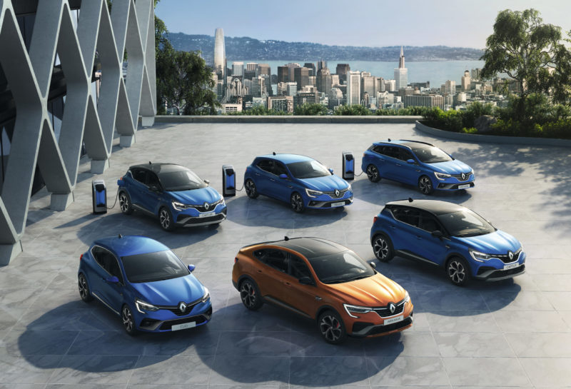 Gamme E-TECH Renault _ photo Renault