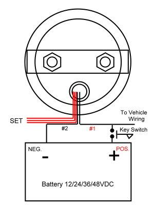 NEW! 42 VOLT 42V EZGO EZGO GOLF CART LED Battery Meter | eBay