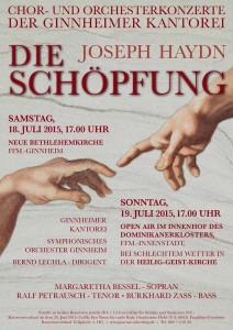 "Konzerte ""Schöpfung"" der Ginnheimer Kantorei"