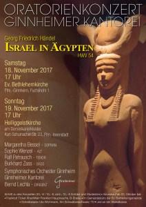 Georg Friedrich Händel Israel in Agypten HWV 54