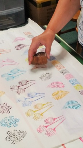 Block Printing Workshops at Lechlade Craft Barn