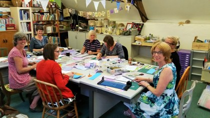 Card Making at Lechlade Craft Barn