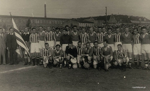 lech cracovia 1945
