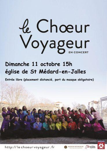 Dimanche 11 octobre 2020 – 15h  Eglise de St Médard-en-Jalles