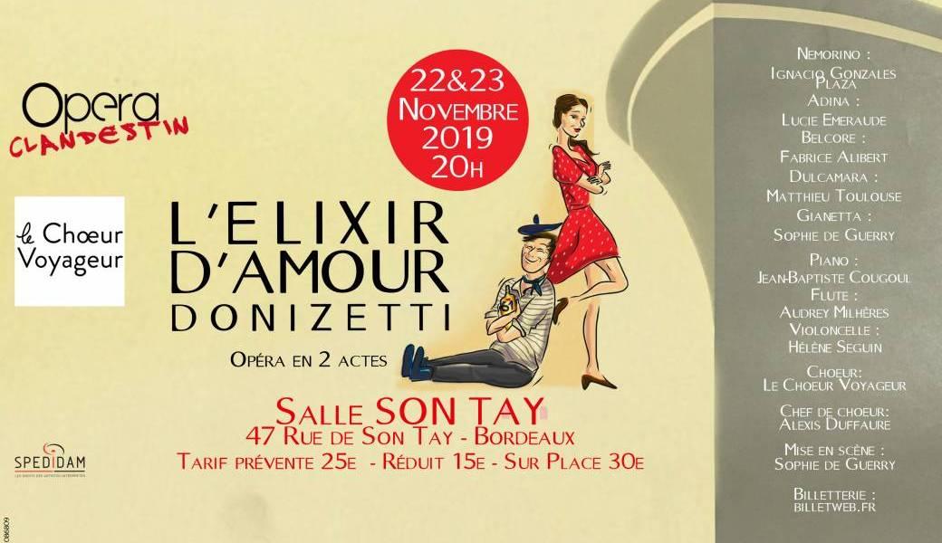 L'Elixir d'Amour – Donizzeti