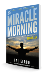 couverture originale the miracle morning