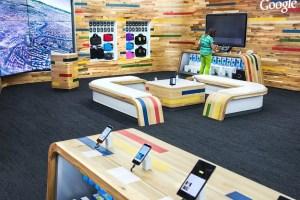 GAFA ouvrent des boutiques physiques