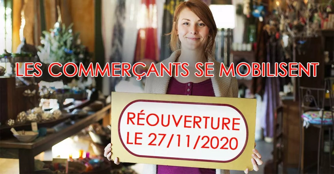 commercante Petition reouverture 17 novembre black friday