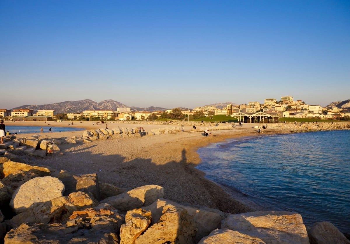 Les plages du Prado
