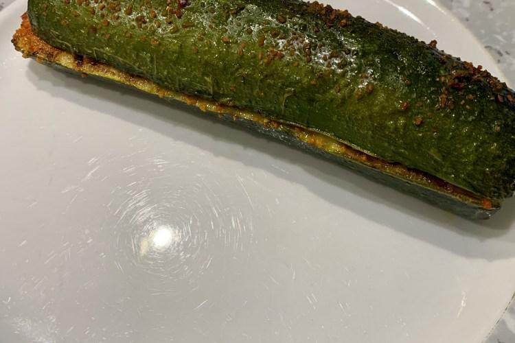 Marinierte Zucchini vom Grill