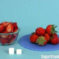 Your food measured in sugar cubes