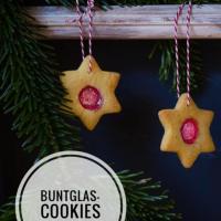 Rezept: Buntglas-Cookies